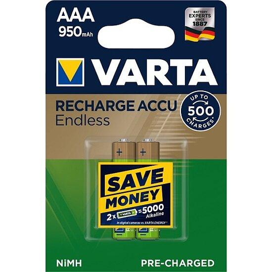 Varta - AAA Micro 950mAh Endless 56683 NiMH 1.2V Akku ...